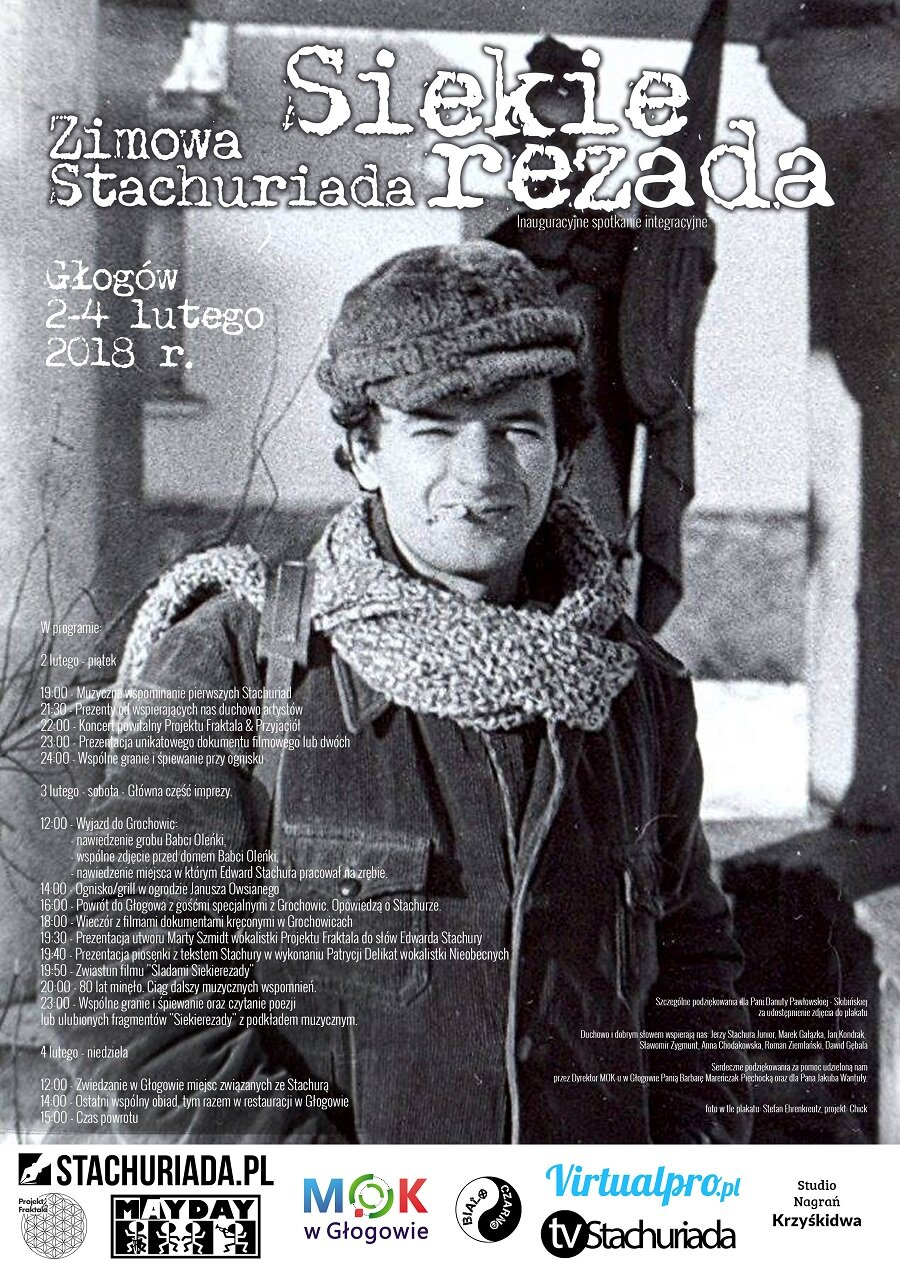 70cea53e87b2fc ... pierwsza Zimowa Stachuriada - Siekierezada w Głogowie. Na samym  początku chcę zaznaczyć, iż impreza była planowana dla wszystkich  zainteresowanych osobą ...